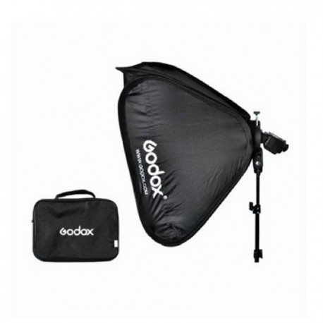 Softbox 60x60cm plegable