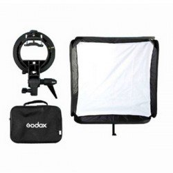 Softbox Godox 80x80cm plegable