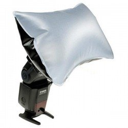 Difusor softbox hinchable flash 22x15cm