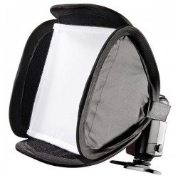 Mini Softbox para Flash 23x23cm