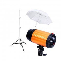 Kit Flash Estudio Godox Smart 300SDI + Pie + Paraguas