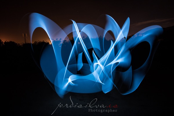 The tape light painting